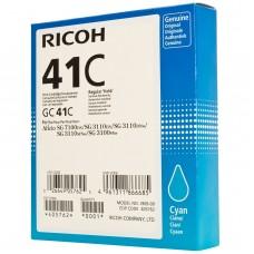 Μελάνι Gel Ricoh GELGC41C Cyan